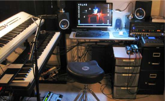 Superb Basic Home Recording Studio Largest Home Design Picture Inspirations Pitcheantrous